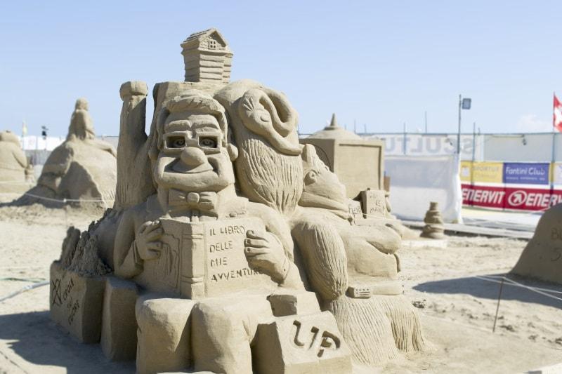 World Master sculture di sabbia 2018